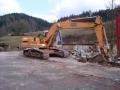 Walraven - přeložka potoka, demolice betonu
